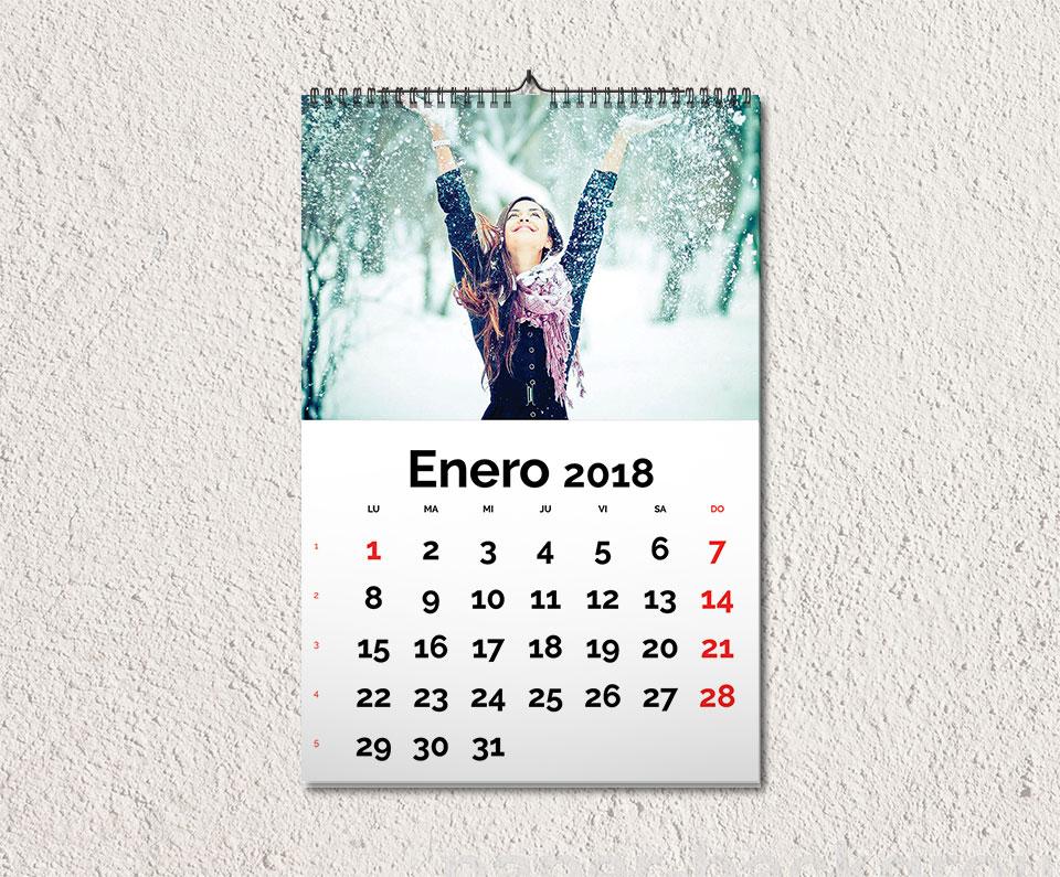 Plantilla calendario 2018 pared gratis magical art studio - Plantillas pared ...