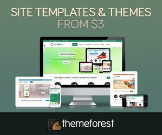 Plantillas y temas web themeforest