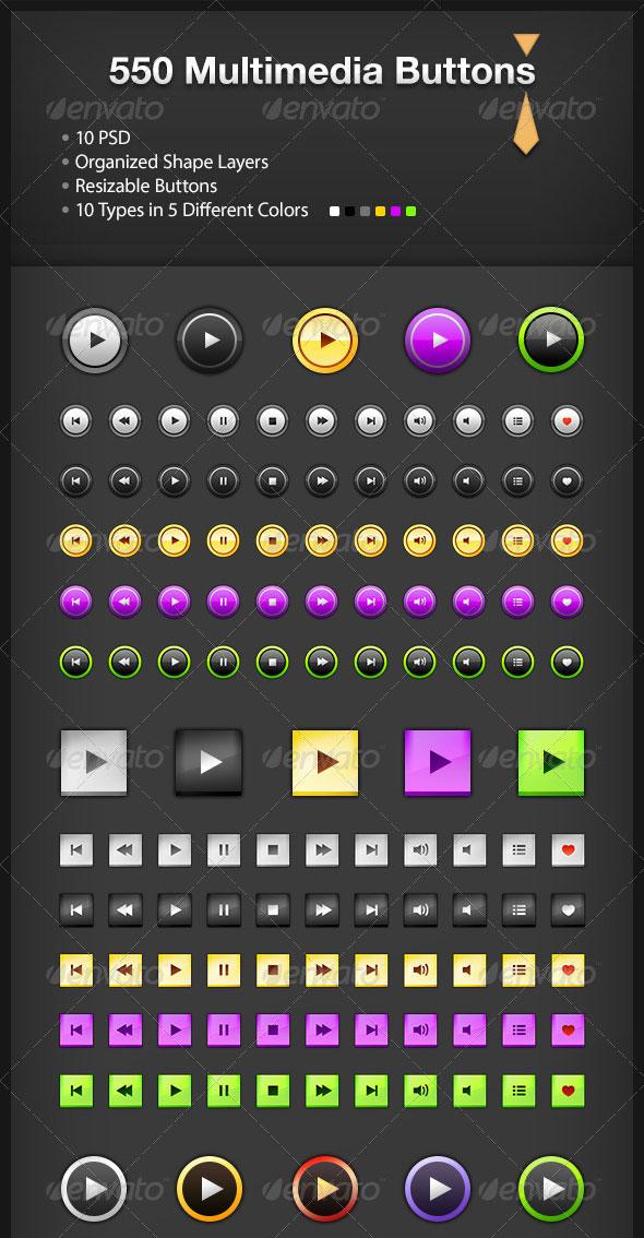 550-botones-multimedia