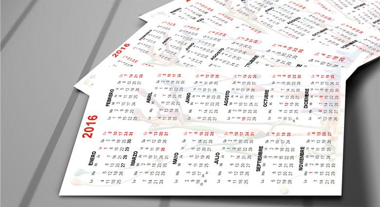 Pack Plantillas Editables Calendarios y Agenda 2016 Descargar Gratis