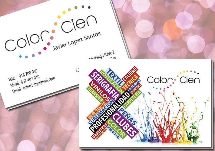 diseño e impresión de tarjetas de visita para serigrafia madrid