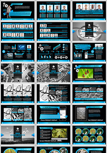 plantilla editable para powerpoint presentación corporativa
