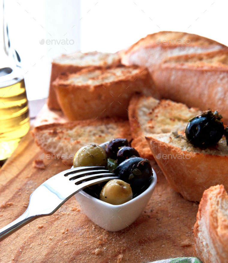 Olives-and-bread