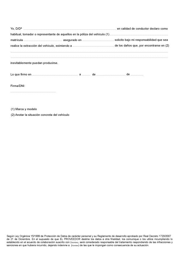 plantilla editable talonario servicios grúa