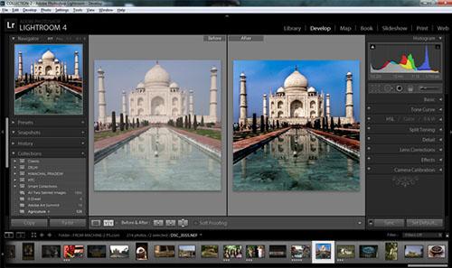 programa edición fotos PhotoShop Lightroom