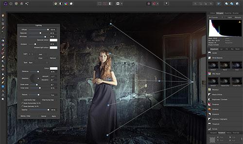 programa edición fotos Affinity