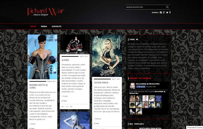 diseño de blog mas dominio mas hosting 144 euros