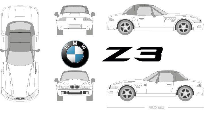 archivo pack de vectores coches para rotulación