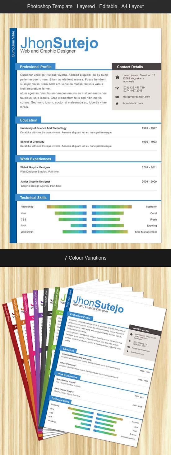Las 10 mejores plantillas gratis para curriculums creativos ...