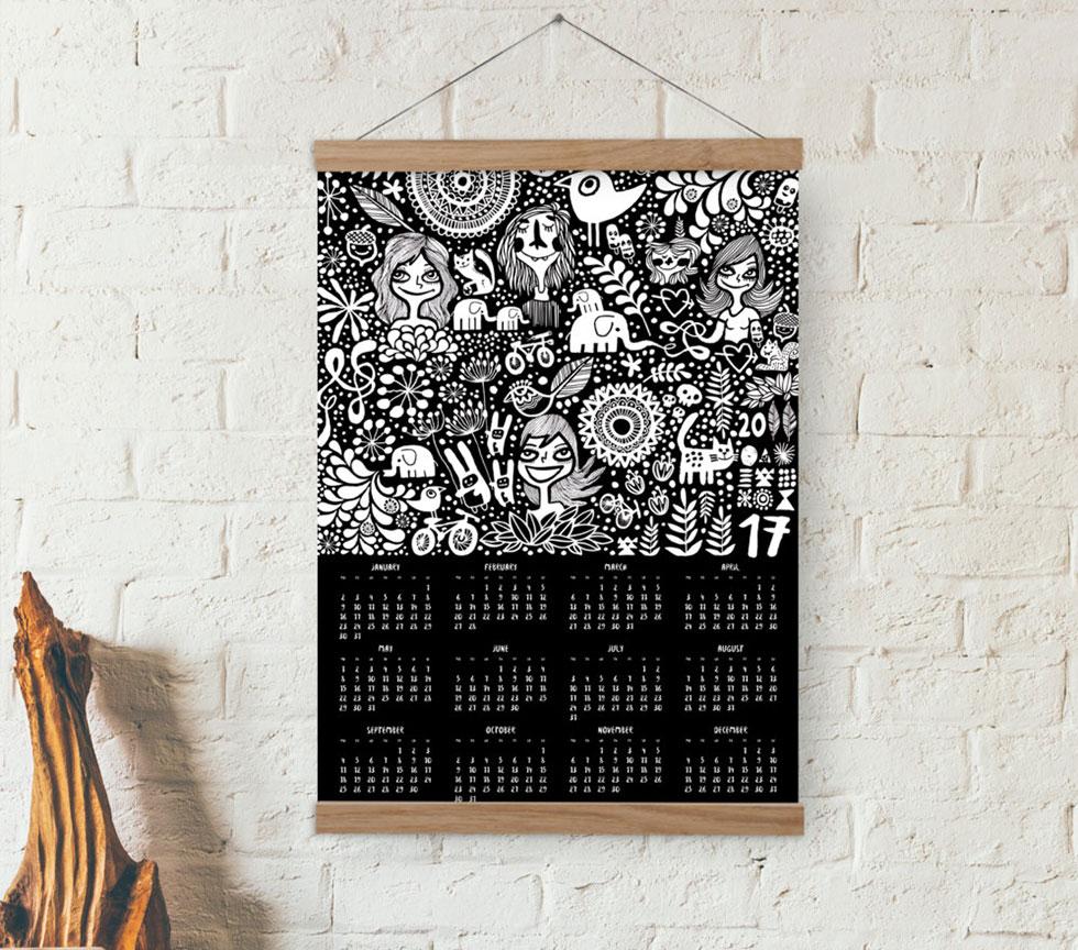 doodles-calendar-2017