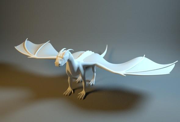 dragon en 3d