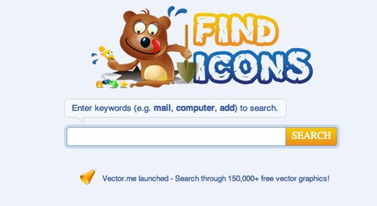 pagina Find Icons