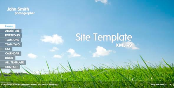 flahs-site-template-xml