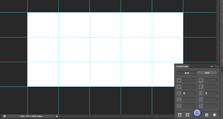 Lineas guias en photoshop