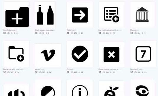 iconos gratuitos para diseño web