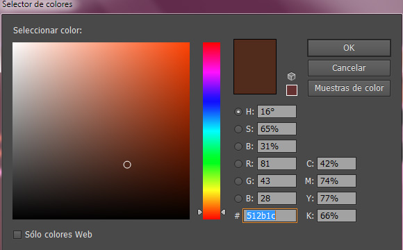 conversion de color Illustrator