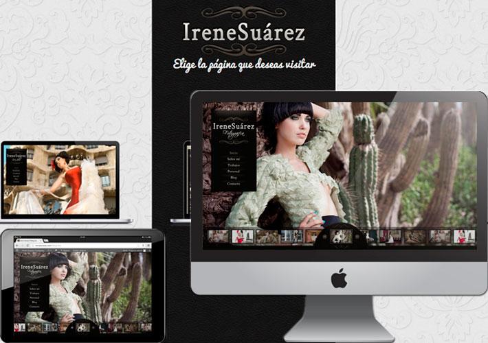 Irene Suárez diseño web, diseño página web