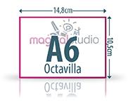 diseño e impresión de octavillas A6