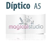 diseño e impresión de dipticos, imprenta online economica