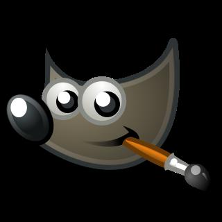 logo del programa codigo abierto gimp