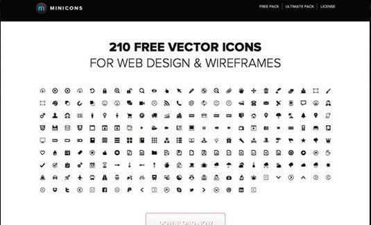 minicons iconos vectoriales para web