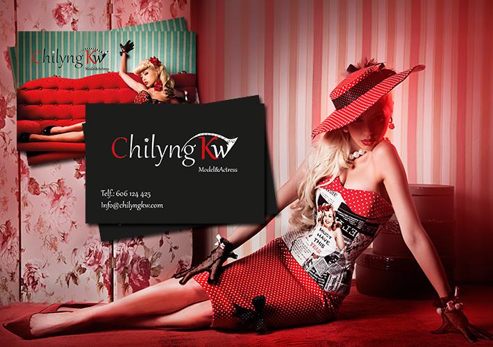 diseño e impresión de tarjetas de visita para Chilyngkw