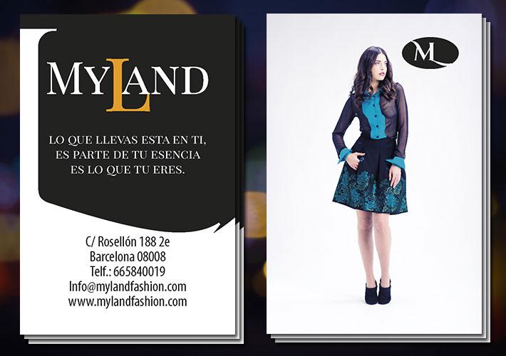 Tarjeta de visita de Myland Fashion