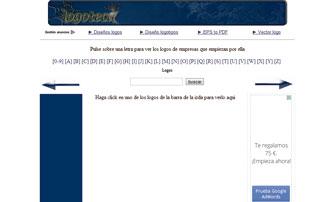 Web de logotipos vectorizados