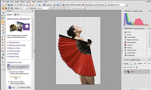 programa edición fotos PhotoPlusX8