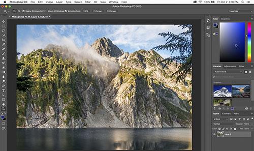 programa edición fotos AdobePhotoshopCC