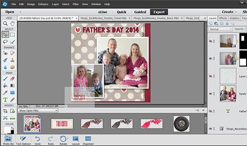 programa edición fotos PhotoShop Elements