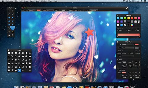 programa edición fotos Pixelmator