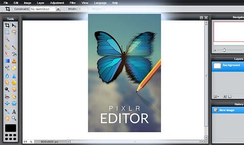 programa edición fotos Pixlr