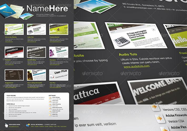 Cv en pdf interactivo