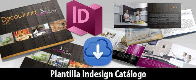 Descarga Plantilla Catálogo Indesign Magical Art Studio