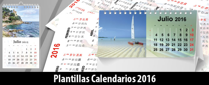 6 Plantillas Editables Calendarios y Agenda 2016 Descargar Gratis ...