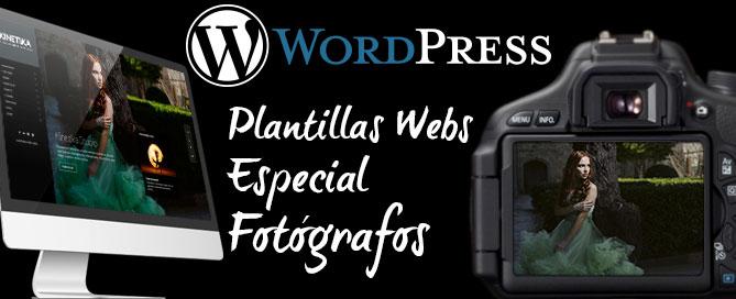 Mejores Plantillas Temas Wordpress Fotógrafos | Magical Art Studio