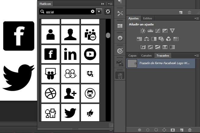 como añadir iconos