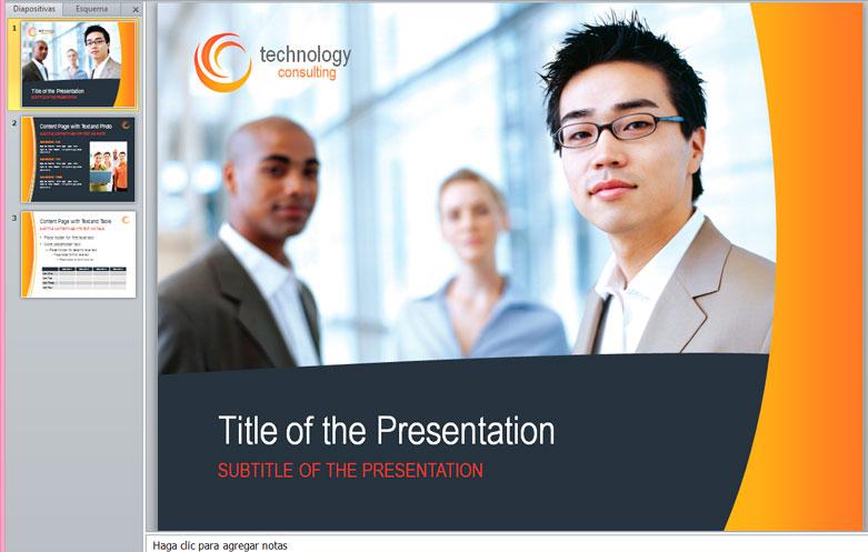 descargar plantilla powerpoint presentación empresa