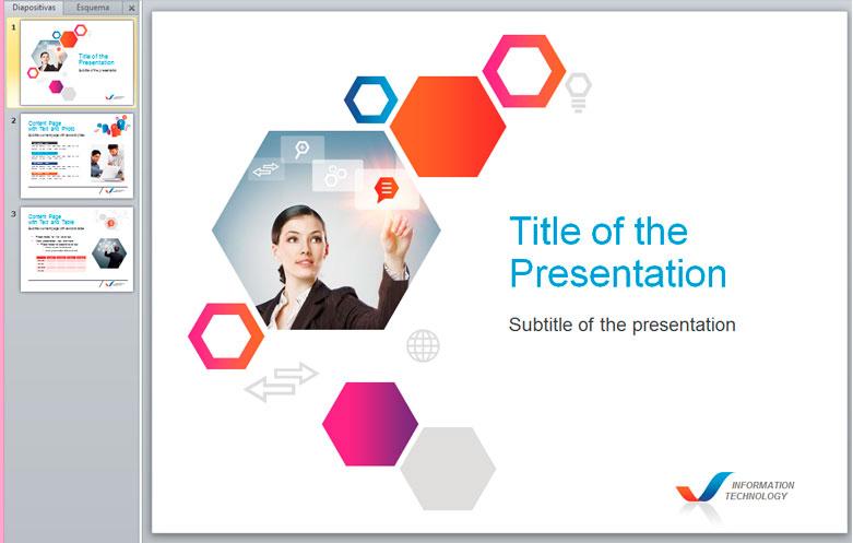 Presentación empresa en powerpoint plantilla editable