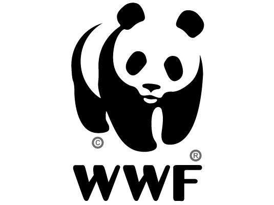 El logotipo de World Wildlife Fund utiliza el principio del cierre para describir a un panda, a pesar de que la forma no está totalmente cerrada.
