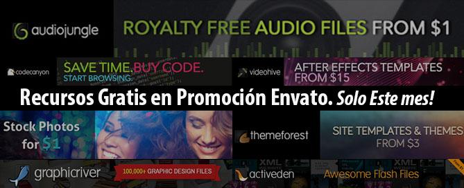 descargar recursos premium gratis Envato