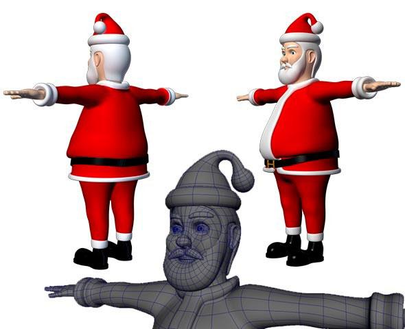 santa-claus-3d