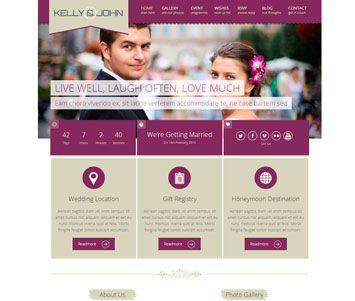 invitación de boda web