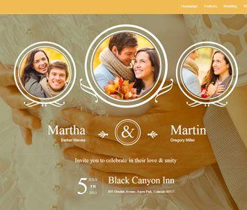 tu boda en una web