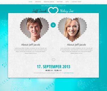 album de boda en una web